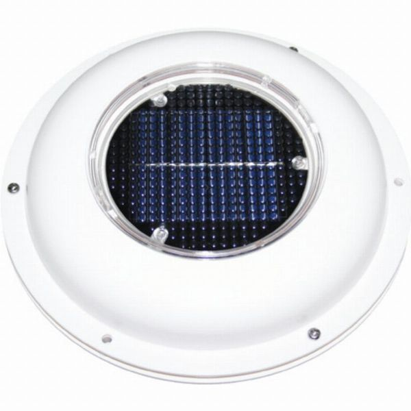 Weatherproof Solar Powered Exhaust Vent