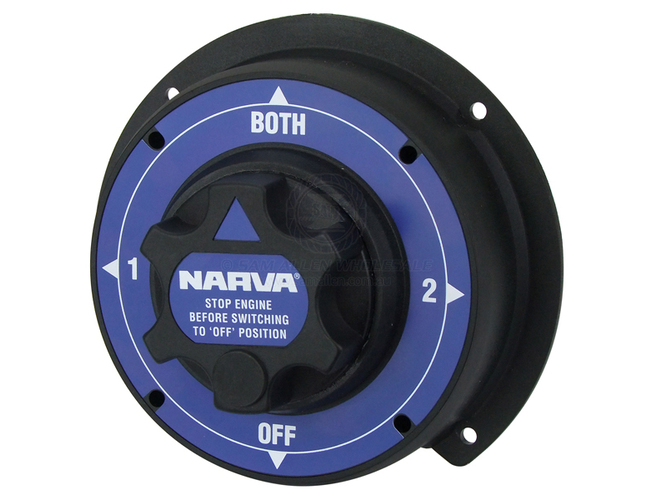 Narva Battery Switch - Heavy-Duty Dual Selector