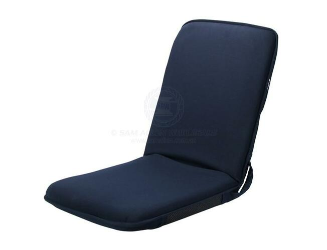 RELAXN Folding Lounge Deck Chair Small 6 Positions Boat Marine Foam Padding