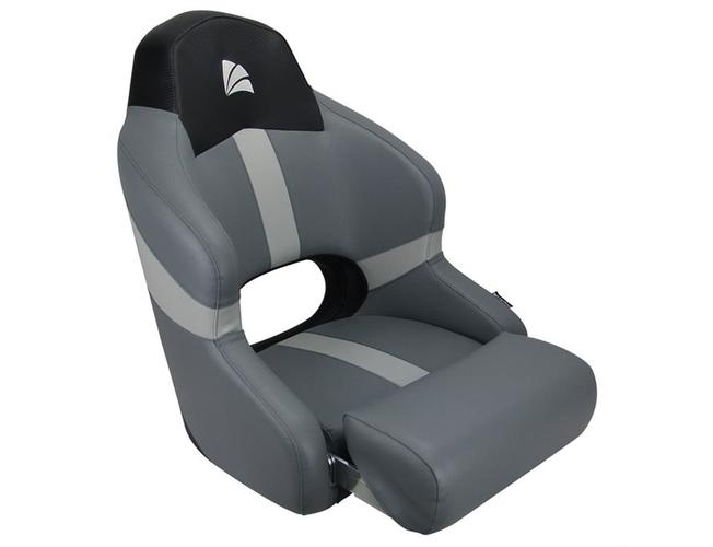 RELAXN Reef Series Sport Bucket Boat Seat - Grey/Black