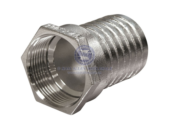 "Sam Allen Hose Tail 1/2"" Bsp Female 316 Ss"