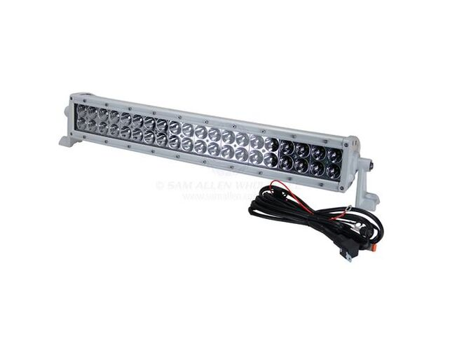 "LED Bar 20"" Curved 200w 9-36V White Aurora"